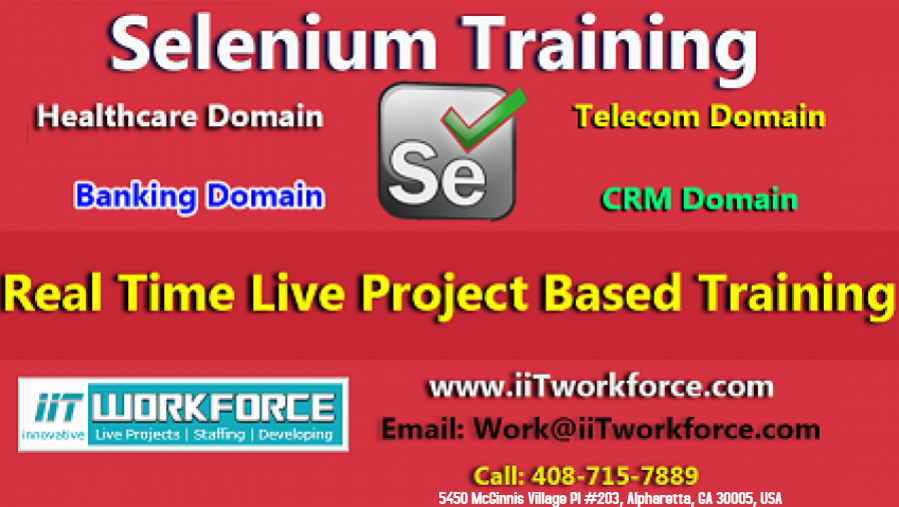 Selenium Real-time Project Workshop