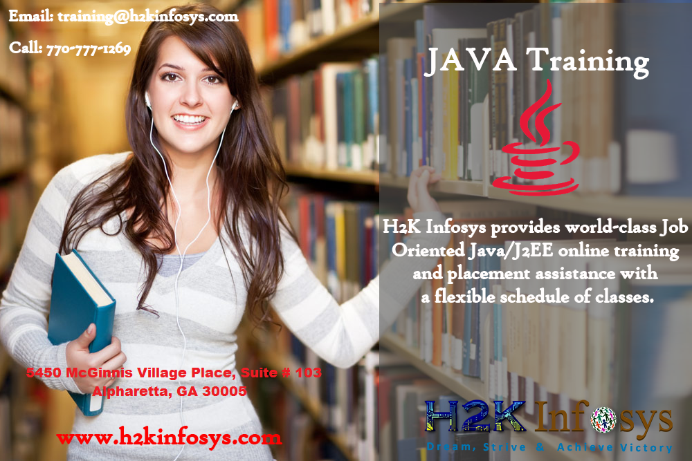 Java Online Training and Placement Assistance By