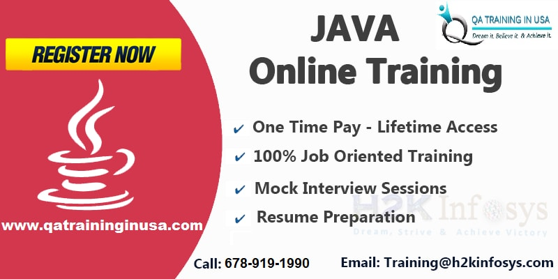 The Best Java Online Training with Job Assistance