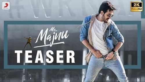 mr majnu official teaser