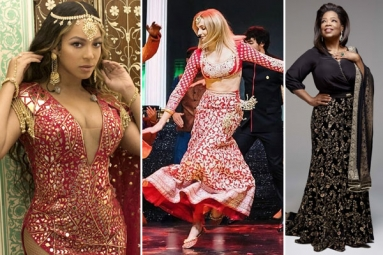 From Beyonce to Oprah Winfrey Here Are 9 International Celebrities Who Pulled off Indian Look with Pride