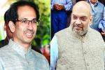Amit Shah To Meet Uddhav Thackeray May Finalise Seat Sharing Deal
