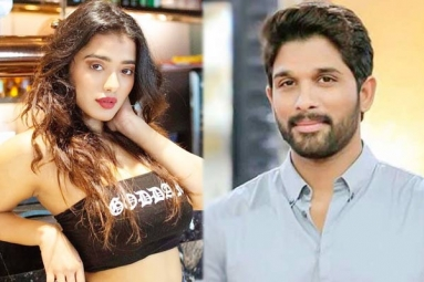 Kethika Sharma Locked to Romance Allu Arjun