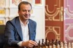 Georgis Makropoulos, FIDE head, russian politician arkady dvorkovich crowned world chess head, Chess