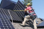 California mandates solar panel use. Solar panels in california, California mandates solar panel use. Solar panels in california, california sets record to be first state in the usa to amend official mandate solar on homes, Fights