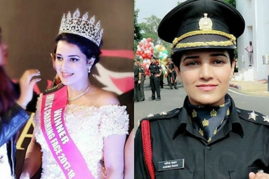 Meet Lt. Garima Yadav, a Beauty Pageant Winner and Now an Army Officer
