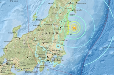 Japan to face Tsunami disaster after it was hit with an earthquake