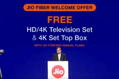 Mukesh Ambani Announces Jio Fiber Launch
