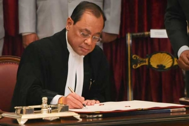 Justice Ranjan Gogoi Takes Oath as Chief Justice of India
