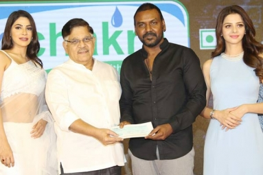 Megastar Donates Big for Lawrence