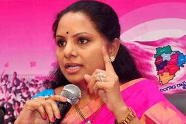 Naidu Posing as National Level Leader to Hide His Failures: MP Kavitha
