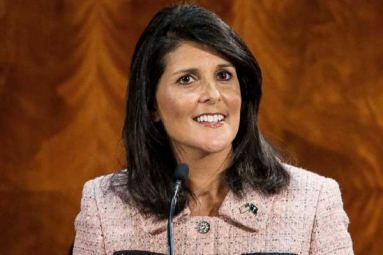 Indian-American Nikki Haley Quits as U.S. Ambassador to United Nations