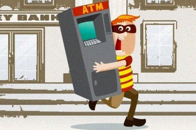 Robbers in Delhi Flew with Entire ATM Machine Packed with Rs 30 Lakh Cash