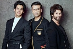 shahid, Shahid Kapoor, koffee with karan ishaan khatter to share couch with brother shahid kapoor, Janhvi