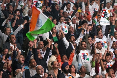 Narendra Modi Supporters Across United States Organize Victory Parties