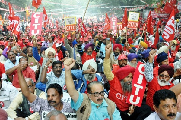 Central Trade Unions Begin Two-Day Nationwide Strike