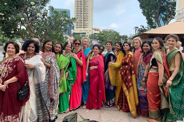Meet Ruby Shekhar, the Founder of Demure Drapes Who Is Making Singapore Fall in Love with Sari