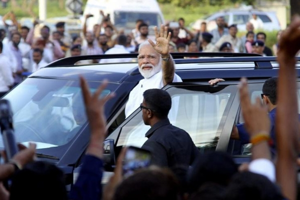 Narendra Modi's Swearing-In Ceremony to Be Largest Ever Event in Rashtrapati Bhavan with 8,000 Guests